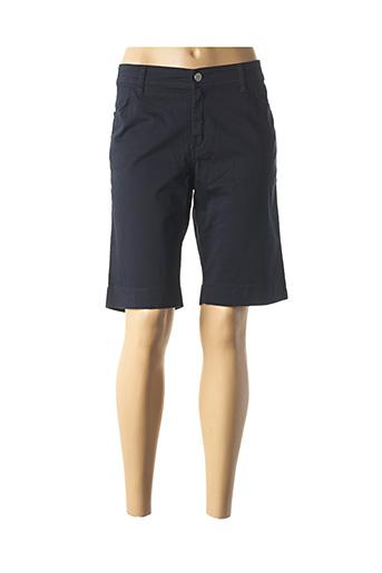 Bermuda bleu COWEST pour femme
