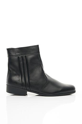 Bottines/Boots noir HIDALGO pour homme