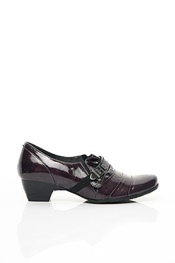 Mocassins violet J.METAYER pour femme