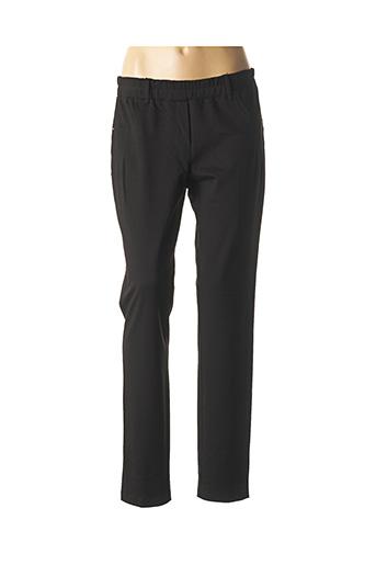 Pantalon casual noir DIAMBRE pour femme