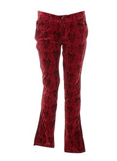 Pantalon casual rouge CATIMINI pour fille