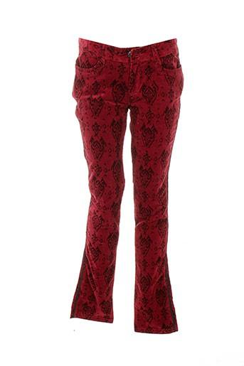 Pantalon casual rouge CATIMINI pour fille