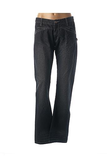 Pantalon casual bleu ET COMPAGNIE pour femme