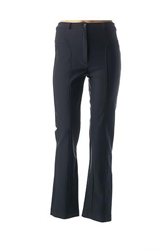 Pantalon casual bleu FICELLE pour femme