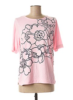 T-shirt manches courtes rose JENSEN pour femme