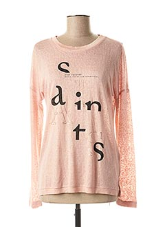 Pull col rond rose ONLY pour femme