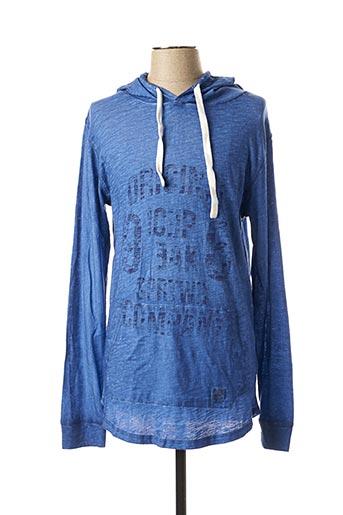 Sweat-shirt bleu ICEPEAK pour homme