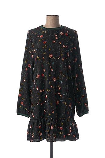 Robe courte noir ANDY & LUCY pour femme