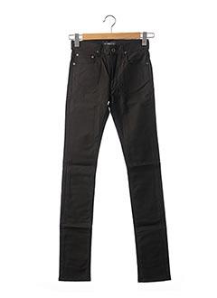 Pantalon casual noir APRIL 77 pour femme
