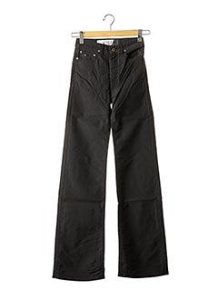 Jeans coupe large noir APRIL 77 pour femme