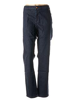 Pantalon casual bleu TREND pour femme