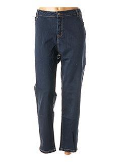 Pantalon casual bleu TREND pour homme