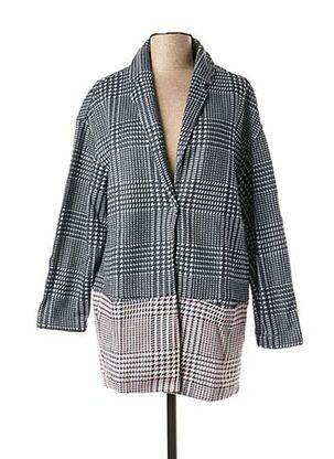Manteau long gris MISS CAPTAIN pour femme