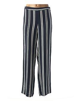 Pantalon 7/8 bleu 1 2 3 pour femme