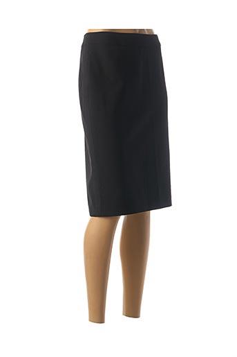 Jupe mi-longue noir MAISON 123 pour femme
