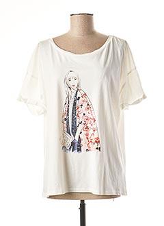 T-shirt manches courtes beige 1 2 3 pour femme