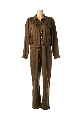 Combi-pantalon vert MAISON 123 pour femme