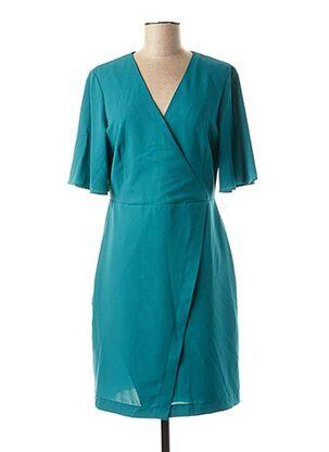 Robe mi-longue vert MAISON 123 pour femme