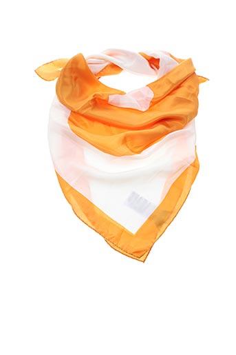 Foulard orange MAISON 123 pour femme
