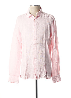 Chemise manches longues rose EDWEEN PEARSON pour homme