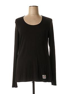 T-shirt manches longues noir YA QU'A pour femme