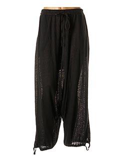 Pantalon casual noir BLACK LABEL pour femme