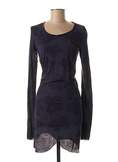 Robe courte bleu BLACK LABEL pour femme