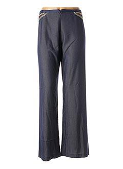 Pantalon casual bleu LO! LES FILLES pour femme