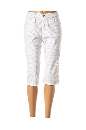 Corsaire blanc LCDN pour femme