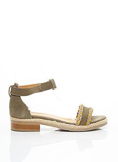 Sandales/Nu pieds vert MINKA DESIGN pour femme