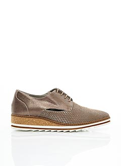 Derbies marron DORKING pour femme