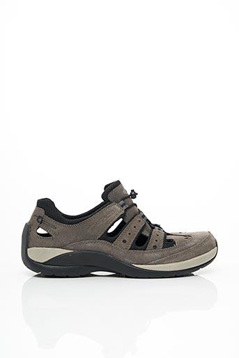 Sandales/Nu pieds gris CAMEL ACTIVE pour homme