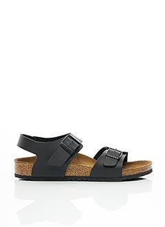 Sandales/Nu pieds noir BIRKENSTOCK pour enfant
