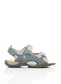 Sandales/Nu pieds gris INTREPIDES PAR BABYBOTTE pour garçon