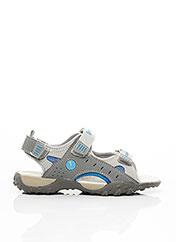 Sandales/Nu pieds gris INTREPIDES PAR BABYBOTTE pour garçon seconde vue
