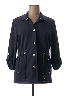 Veste casual bleu DIANE LAURY pour femme