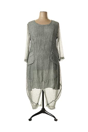 Robe longue gris GRIZAS pour femme