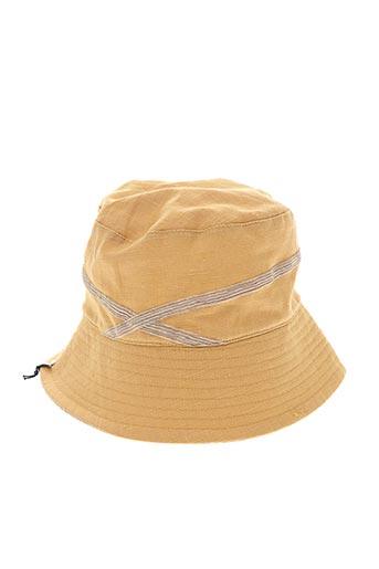 Chapeau jaune MTM pour femme