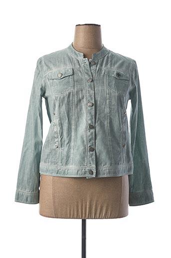 Veste casual vert MERI & ESCA pour femme