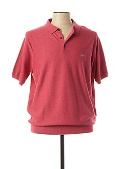 Polo manches courtes rouge FYNCH-HATTON pour homme