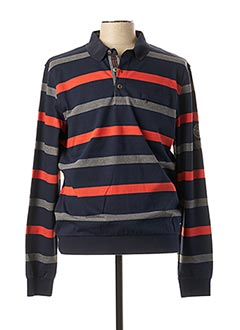 Sweat-shirt bleu MONTE CARLO pour homme