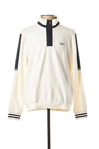 Sweat-shirt beige MONTE CARLO pour homme