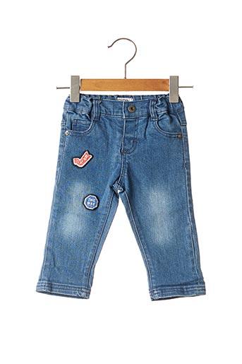 Jeans coupe slim bleu NANO & NANETTE pour garçon
