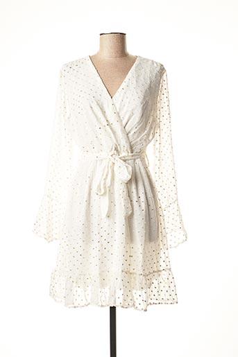 Robe courte blanc CIAO MILANO pour femme