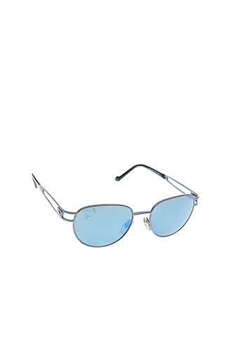 Lunettes de soleil bleu LACOSTE pour homme