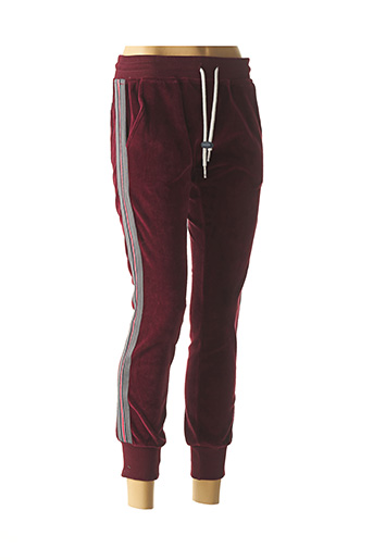 Jogging rouge SWEET PANTS pour fille