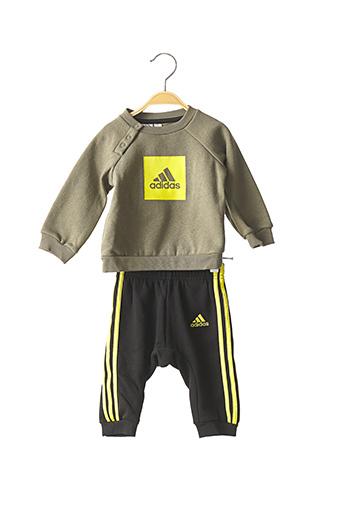 Pull/pantalon vert ADIDAS pour garçon