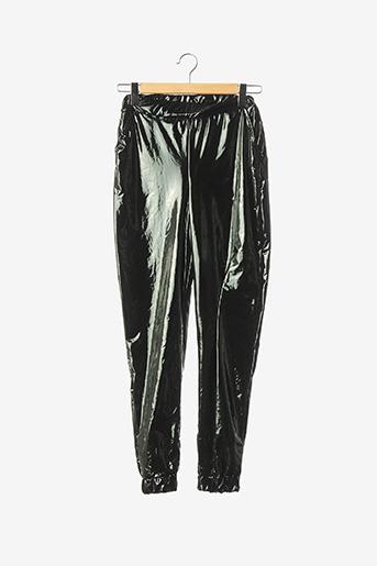 Pantalon casual noir BOOHOO pour femme