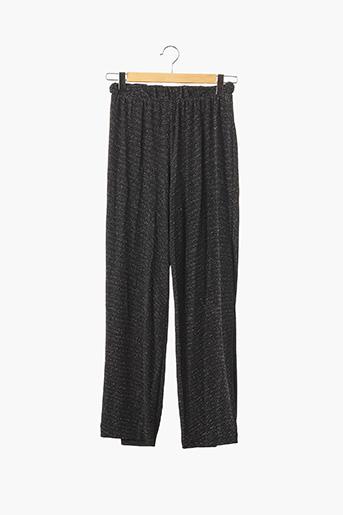 Pantalon casual noir DIVIDED H&M pour femme