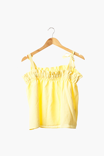 Top jaune DIVIDED H&M pour femme